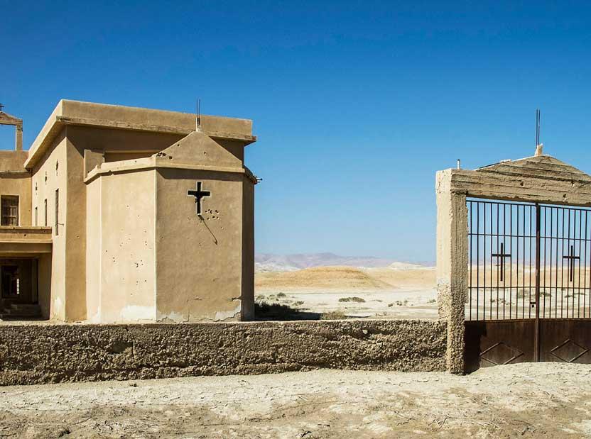 Abandoned-Ethiopian-monastery-at-Jordan-Israel-border