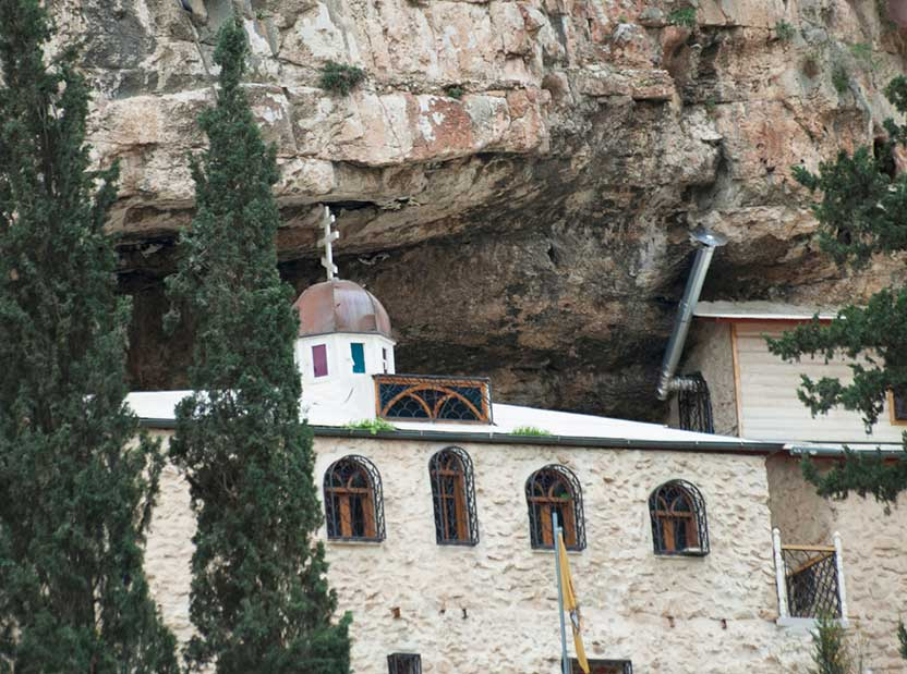 Chariton Monastery main building
